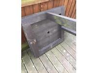 Composit garden bench