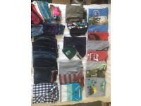 Bundle of Boys clothes, aged 12 - 13 years, over 40 items!