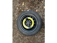 "16"" 205/55 Full Size Spare Wheel for Golf Mk7 / Audi A3 / Skoda Octavia"