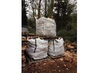 Bulk Bags of seasoned firewood
