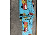 Fire Engine bedding (single bed)