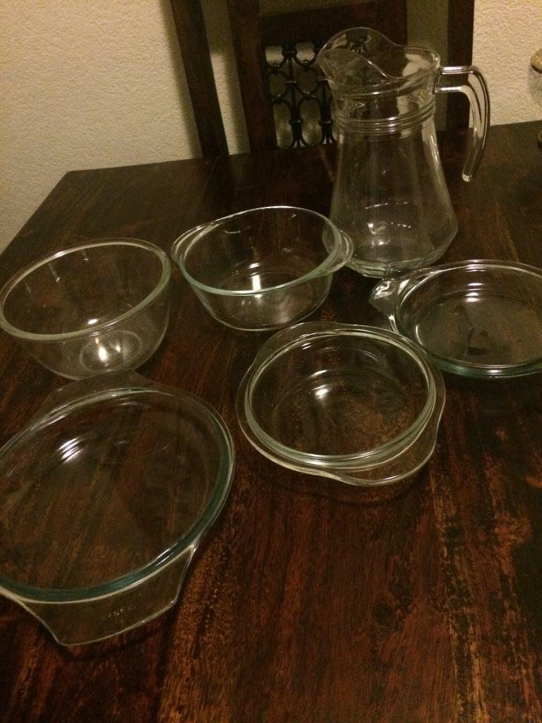 Set of 6 glassware