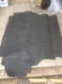 Landrover boot mat and floor mats