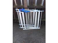 3 x safety gates