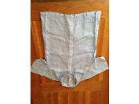 GAP Men's Short-Sleeved Blue Linen Shirt (Large) (never worn) JUST REDUCED