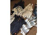 9-12 months dungarees