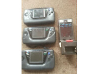 for sale 3 Sega Game Gears sold for parts only and only £20