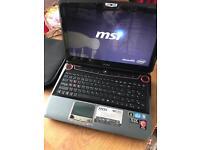 Msi gt683 gaming laptop