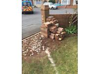 Bricks free to collect