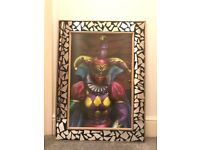 Large New Orleans female witch doctor picture