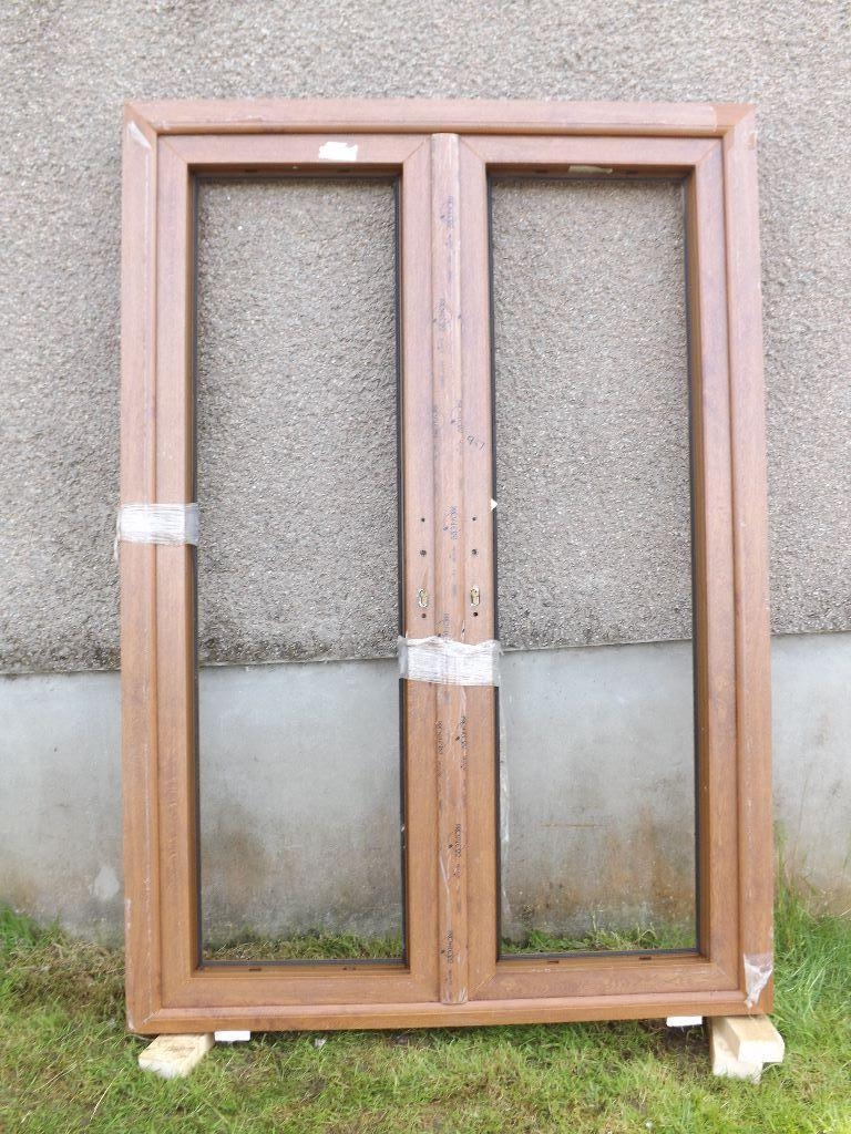 French doors upvc rosewood in keith moray gumtree for Upvc french doors images