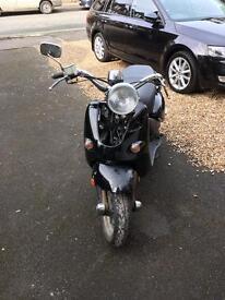 Aprilia Mojoto Custom 50cc (unrestricted)