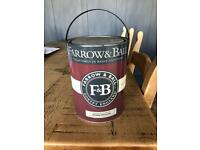 FARROW AND BALL HAUGE BLUE PAINT