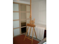 Professional Quality Artists Floor-Standing A-frame Easel.