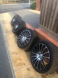 """19"""" Alloys+Tyers Audi a6"""