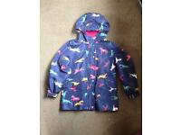 Joules coat girls 9-10 Years immaculate