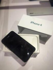 iPhone 4 Black Vodafone BOXED