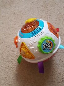 Vtech crawl and learn ball. Immaculate condition
