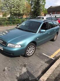 1999 Audi Estate Petrol. MOTD till Nov. Taxed. Good runner £295