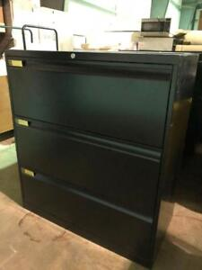 Teknion 3 Drawer Lateral Filing Cabinet - $250