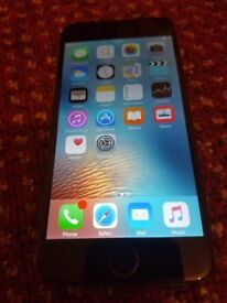 APPLE IPHONE 6 SILVER AND 16GB ON EE, T-MOBILE AND ORANGE NETWORK
