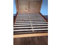 Solid Pine Kingsize Low End Bed Frame 5FT 150x200, New from Box, WESTMORELAND LOW END BED FRAME.