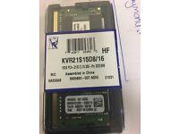 Kingston 16GB Ram Brand new