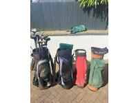 Golf club Bags £10 each 3 for £20 all 4 for £25