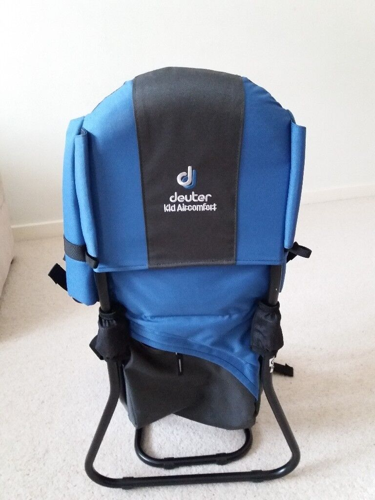 b1243c06fbbb Deuter Kid s Backpack Air-comfort. Gently used. Excellent condition. Blue.  Sun roof