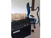 Bluerock electric guitar