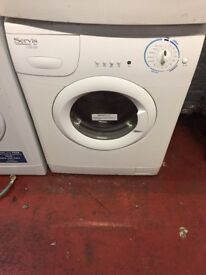 nice white serves washing machine it's 6kg 1100 spin in excellent condition in full working order