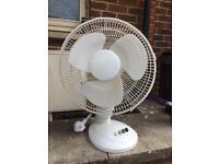 Large desk fan