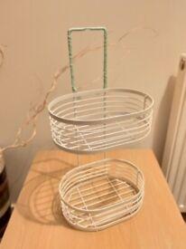 Small metal basket