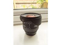 Sigma 10-20mm F4-5.6 EX DC lens for Pentax K-Mount
