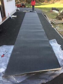 Brand New Dark Grey Heavy Duty Carpet 1.3m wide - suitable for Hallway / Stairs / Landing