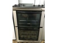 Zanussi Black and Silver Gass Cooker With Free Delivery