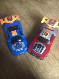 Traction racing cars