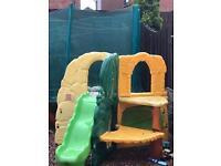 Little tykes garden payset with slide
