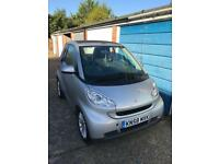 2008 October (58 REG) Smart Fortwo Passion 71 Auto Convertible Petrol 1.0 Silver