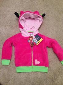 Girls new hoodie/pillow