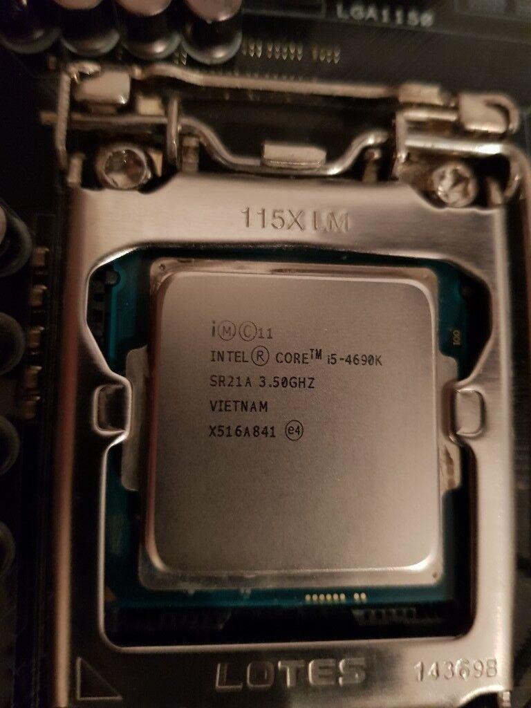 Asus z97 Pro-Gamer / i5 4690k / 16GB (4x4GB) Corsair Vengeance Pro DDR3 |  in Halfway, South Yorkshire | Gumtree