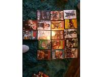 Range of 24 dvds (van damme jackie chan and more)