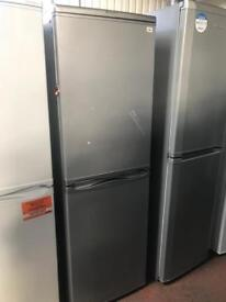 Silver Hotpoint Fridge Freezer - Used