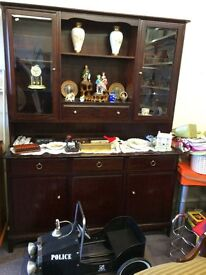 Stag Furniture 4ft 6in Long Dresser/Display Cabinet