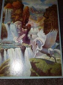 1500 puzzle 'Pegasus Valley Falls' jigsaw