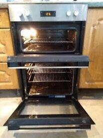 Beko Built in double oven - 2 months old - £200