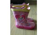 Original Disney Princess boots, coloured pink size 8