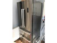 American Style Fridge Freezer - Hisense (Like New)