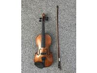 Stentor violin. Great condition. Hard case, mute and bow rosin included.