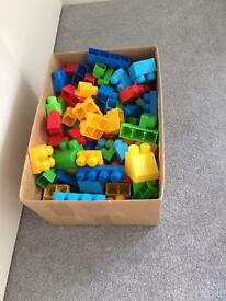 Mega Blocks - large box